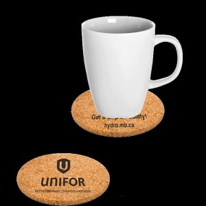 "3.5"" Round Cork Coaster CK-3.5CO-RD Cork Products"