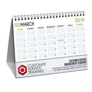 Paper Desk Flip Calendars JJC-4000-P Calendars Desk Flip Calendars