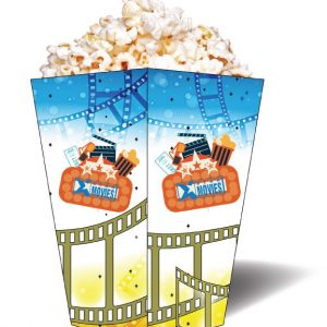 Popcorn Box CY-POPBOX-C Candy Popcorn