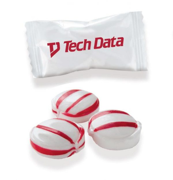Best Seller - Individually Wrapped Red Striped Mints CY-WC-RSM Candy Individually Wrapped Candies