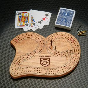 Cribbage Board - Laser Engraved GA-CRBD Event Promotions