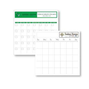 "22"" x 22"" Styrene Perpetual Dry Erase Calendar - Month at a glance JJC-3400-S Calendars Perpetual Calendars"