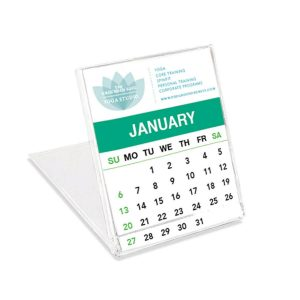 "6"" X 5"" Jewel Case Calendar JJC-JEWEL-1 Calendars Jewel Case Calendars"