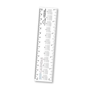 "6"" Paper Ruler Calendar LP-1001-CAL Calendars"