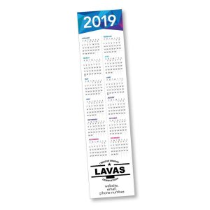 "8"" Paper Bookmark Calendar LP-1020-CAL Calendars"
