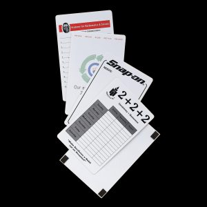 """6"""" x 9"""" 12 Point Card Stock Memo Boards LP-1301 Paper Products Memo Boards"""