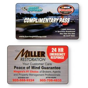 Wallet Cards Compessed Lamination - Single Sided