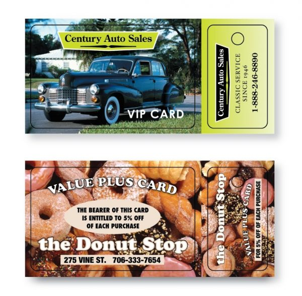 Single Wallet Card/Key Tag LP-WCSK-SS Paper Products Wallet Cards