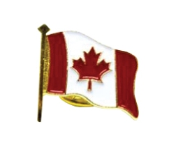 Canada Flag Lapel Pin LPIN-CANADA Canada - Stock Products