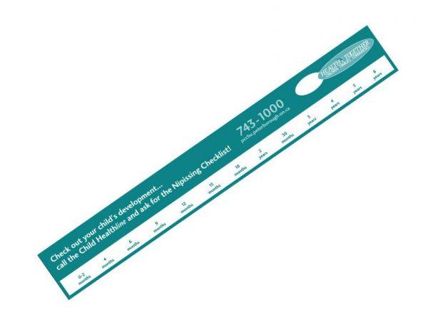 "Ruler Magnets - 1.5"" x 11"" - 30mil MG-1186-30MIL Magnets Ruler Magnets"