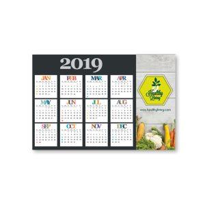 "3"" x 5"" Calendar Magnet - 20mil MG-1198-CAL Calendars Magnet Calendars"