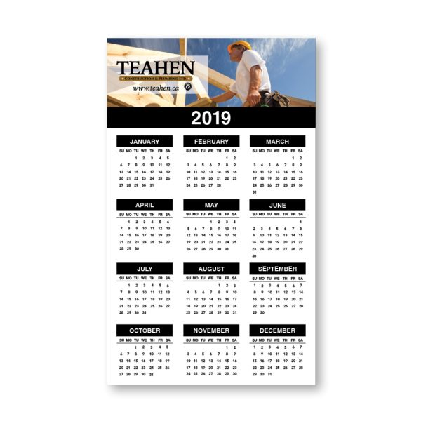 "5"" x 8"" Calendar Magnet MG-1372-CAL Calendars Magnet Calendars"