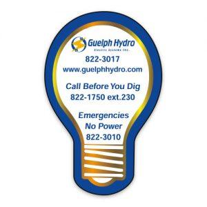 Commerce Magnets - Light Bulb - 30mil MG-4007-30MIL Magnets Commerce