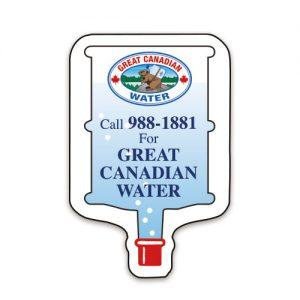 Commerce Magnets - Water Bottle - 30mil MG-4022-30MIL Magnets Commerce