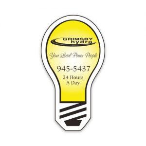 Commerce Magnets - Lightbulb (Large) - 30mil MG-4112-30MIL Magnets Commerce