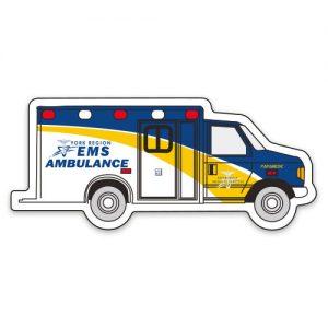 Transportation Magnets - Ambulance - 30mil MG-4174-30MIL Magnets Transportation