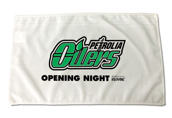 "12"" x 18"" Rally and Event Towel with 2 colour print PC-RALLYMF-W2C Event Promotions Rally and Event Towels"