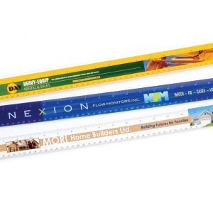 "18"" Heavyweight Plastic Rulers RL-4CP-18 Bookmarks and Rulers Heavyweight Plastic Rulers and Yardsticks"