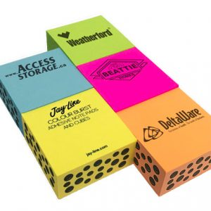 Adhesive Colour Burst Half Cubes - Long Run SN-CUBE-CB-HALF Note Pads Adhesive Cubes