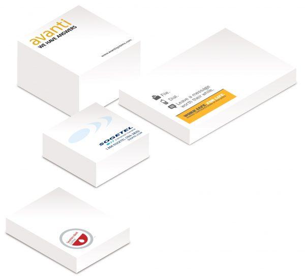 "4"" x 6"" Tall Adhesive Note Pad - 200 Sheets SN-TALL-200-04 Note Pads Tall Adhesive Note Pads"