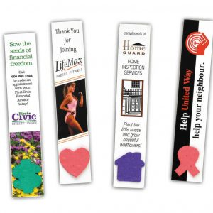 Seeded Paper Bookmark SP-1020 Seeded Products Seeded Paper Bookmarks