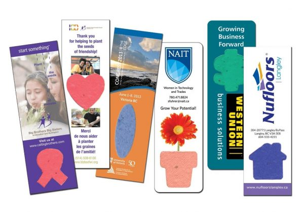 Large Seeded Paper Bookmarks SP-1100 Seeded Products Seeded Paper Bookmarks