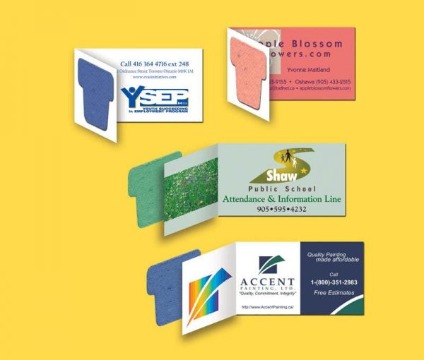 Seeded Paper Business Cards SP-2000 Seeded Products