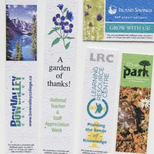 "Direct Print Seeded Paper 8"" Bookmark SP-DP-BM8 Seeded Products Direct Print Seeded Paper Products"
