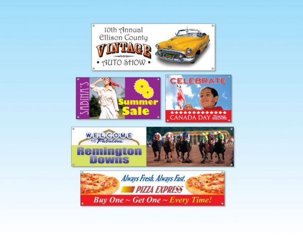 "Vinyl Banners - Up to 36"" x 48"" VB-36x48 Banners and Graphics Vinyl Banners"