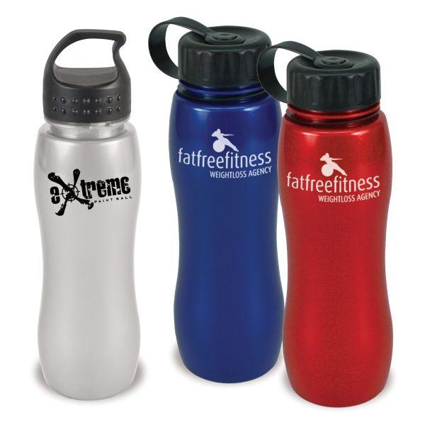 25 oz Metalike Slim Grip Bottle WB-MXB25 Drinkware