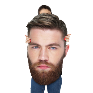 Coroplast Big Heads