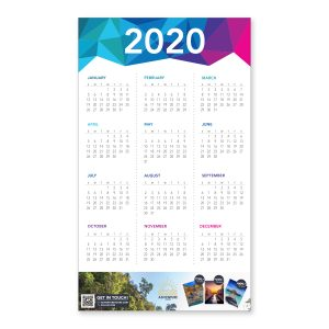 Full Year Wall Poster Calendars