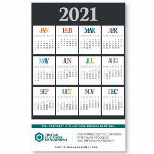 Full Year Wall Poster Calendars
